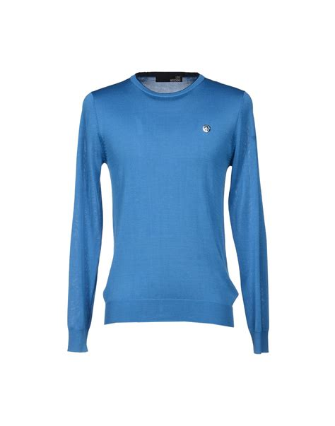 Jumper Moschino moschino jumper in blue for azure lyst