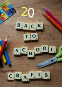 craft ideas for to make at school 20 back to school crafts ideas ted s