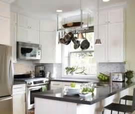 Small Black And White Kitchen Ideas White Kitchen Cabinets With Black Granite Countertops