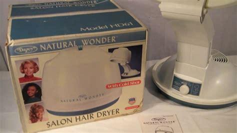 dazey hair dryer natural wonder vintage dazey natural wonder hair dryer youtube