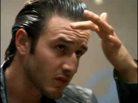 slick hair tv slicked back hair david arquette youtube