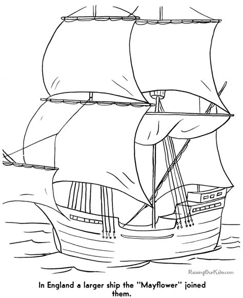 free printable mayflower coloring pages surviving a