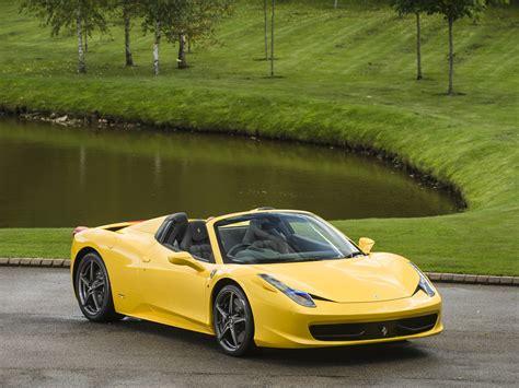 Ferrari 458 Spider Yellow by Stock Tom Hartley Jnr