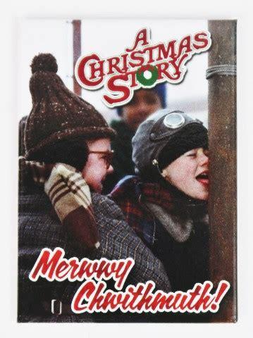 christmas story merry christmas fridge magnet funny retro vintage style atam
