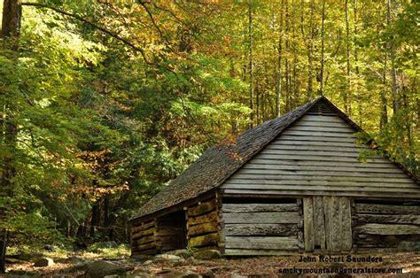 Great Smoky Cabins by Beautiful Fall Leaves In The Smokies Smokies