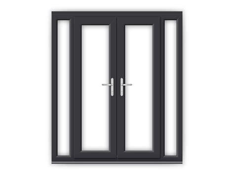 4ft upvc doors 4ft anthracite grey upvc doors with narrow side