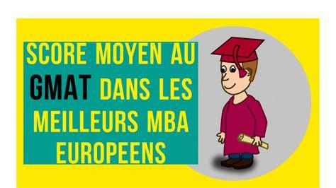 Clemson Mba Gmat Importance by Score Moyen Au Gmat Dans Les Meilleurs Mba Europ 233 Ens