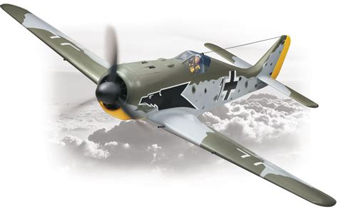 Home Plans For Sale by Top Flite Focke Wulf Fw 190 Almost Ready To Fly 55 Cc Gas