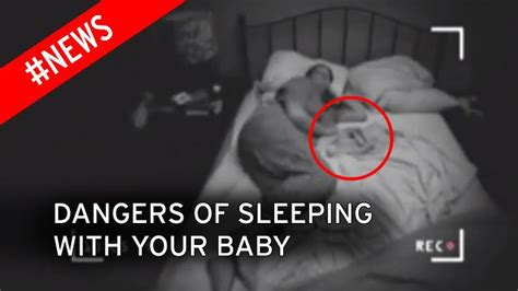 how to make a baby in bed the dangers of co sleeping with your baby revealed in a video with a stark warning mirror online