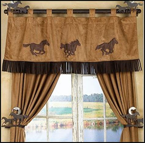 horse window curtains decorating theme bedrooms maries manor cowboy theme