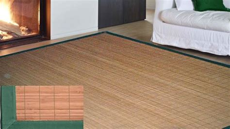 tappeto bambu su misura tappeti bamboo misure pannelli termoisolanti
