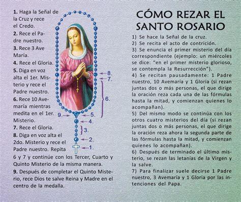 como rezar el santo rosario new advent el santo rosario modo de rezarlo html autos weblog