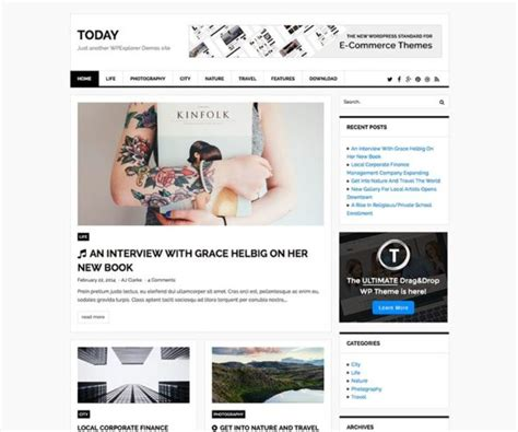 best wordpress themes newspapers best wordpress newspaper themes free