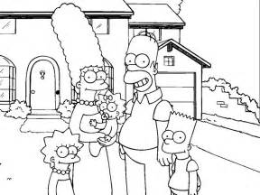 the simpsons coloring pages simpsons coloring pages to print az coloring pages