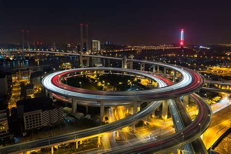 somewhere over rainbow shanghai nanpu bridge