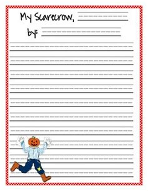 scarecrow writing paper paper doll scarecrow friends clothes paper dolls