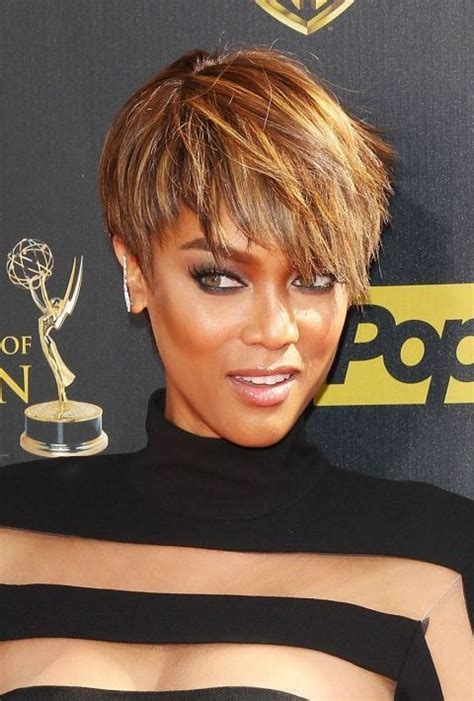 bob with banks and over 50 50 short hairstyle ideas for black women light brown