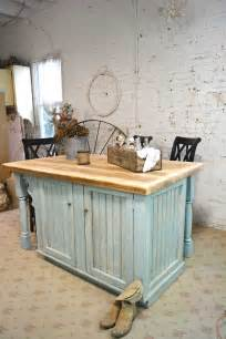 hand painted kitchen islands painted cottage chic shabby hand made farmhouse kitchen island