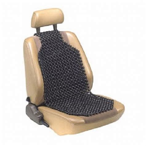 17359 Custom Accessories Wood Beaded Comfort Seat