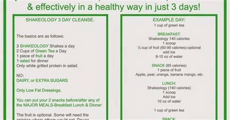 7 Day Detox Beachbody by 3 Day Shakeology Cleanse Http Www Jenniferwoodfitness
