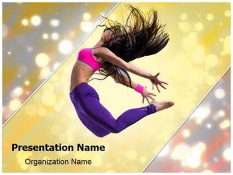 power point themes jazz jazz dance powerpoint template is one of the best