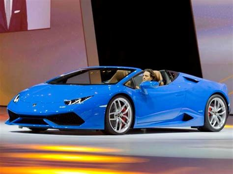 2016 Lamborghini Huracan LP 610 4 Spyder surfaces   Kelley