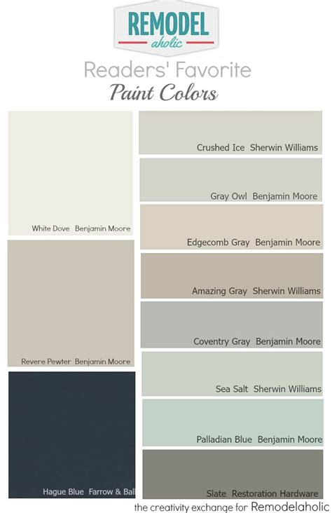 reader favorite paint colors pewter paint colors and favorite paint colors