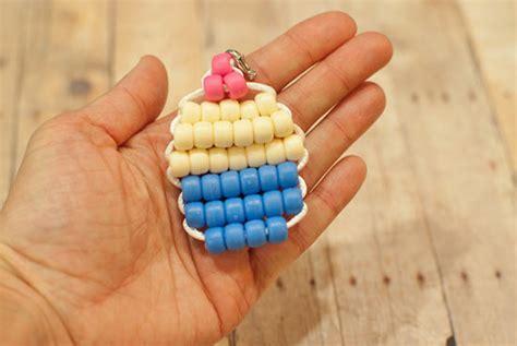 cupcake pony bead pattern kid friendly pony bead cupcake tutorial factory direct