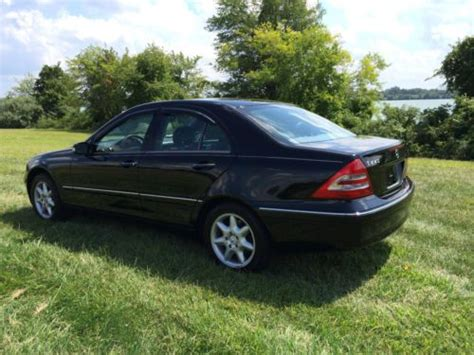 Mercedes C240 2003 by Buy Used 2003 Mercedes C240 Black On Black New