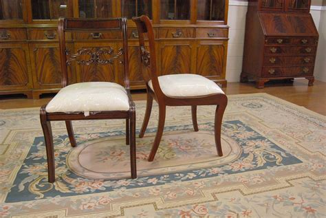 mahogany dining room chairs empire duncan phyfe chair ebay
