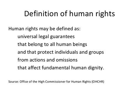 right meaning human rights framework