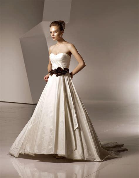 imagenes de vestidos de novia color azul vestidos de novia con color