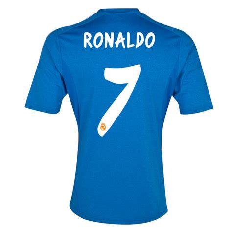 ronaldo juventus jersey away 13 14 real madrid 7 ronaldo away blue voetbal jersey voetbalshirts sale
