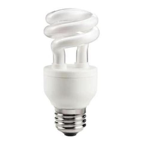 Lu Philips Spiral 40 Watt philips 40w equivalent soft white 2700k spiral a line cfl light bulb e 413988 the home depot