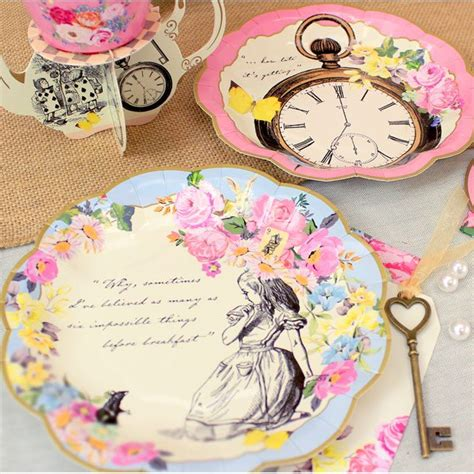 alice in wonderland home decorcheap alice in wonderland home decoration alice in wonderland party themed truly alice paper plates