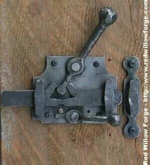Handmade Blacksmith Products - 66 best images about door latches and locks on