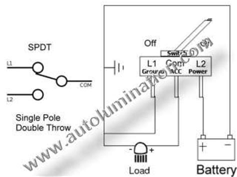 single pole throw spst relay wiring diagram get free