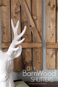 barn wood shutters diy barn wood shutters grows