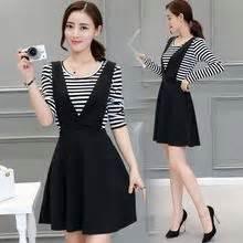 Set T Shirt Jumper Striped Dress jumper dresses yesstyle
