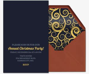holiday party invitations evite