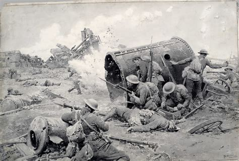 first world war how the land battles courcelette canada and the first world war