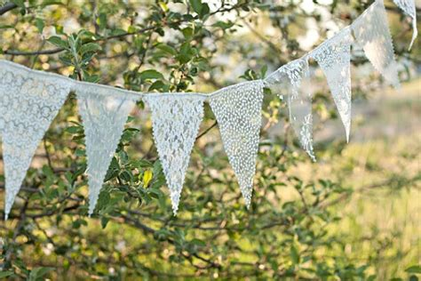 Wedding Bunting Banner Uk by Lace Bunting Banner Lace Bunting Wedding Banner