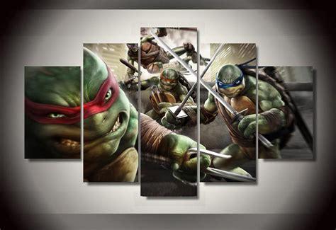 teenage mutant ninja turtles home decor framed printed cartoon teenage mutant ninja turtles group