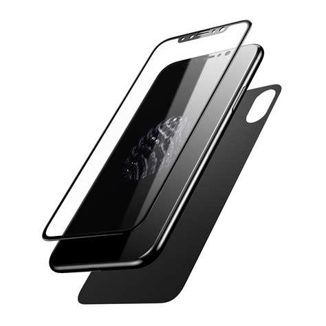 baseus 0 2mm 3d arc edge front rear tempered glass