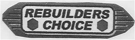 car choice motors inc rebuilders choice trademark of packard motor car company