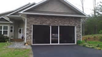garage door screen garage door screens retractable