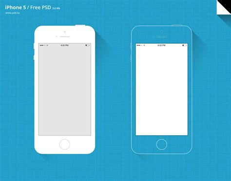 Best Collection Of Iphone Mockup Templates Css Author Iphone Psd Template Free