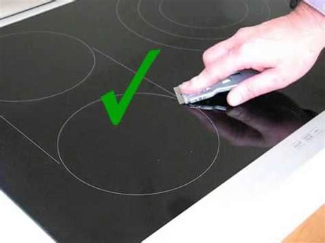 Cleaning A Ceramic Cooktop how to clean your electric or induction glass cooktop or hob avi