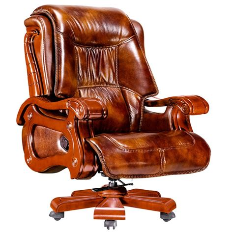 executive desk chair leather executive leather office recliner chair