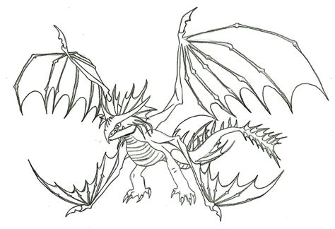 alpha dragon coloring page stormcutter line art by alexaanime1 on deviantart